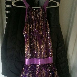 Girls size 14/16 dance costume