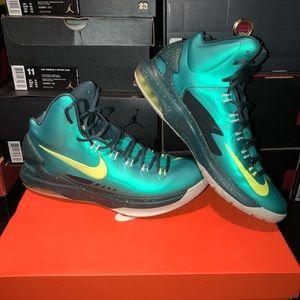 "Nike KD V Atomic Green Volt aka ""Hulk"", Size 11"
