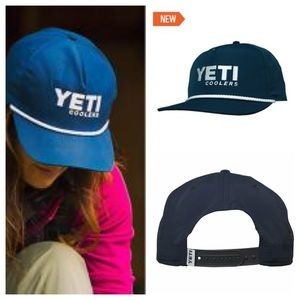 NWT YETI coolers outdoor sportsman SnapBack hat OS