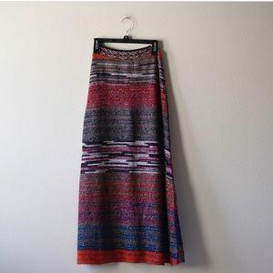 Anthropologie Cecilia Prado knit maxi skirt