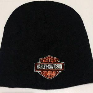 Other - Harley Davidson Black Beanie