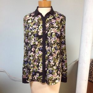 Anthropologists ladies floral blouse