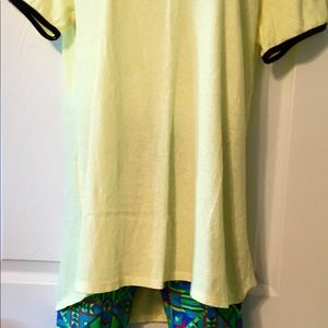 NWT perfect LLR tee and NWOT OS LLR legging