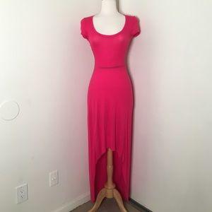 BCBG Max Azaria Pink Maxi Dress