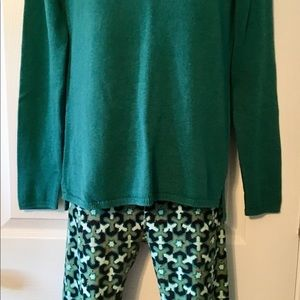 LLR OS legging and NWOT Old Navy Sweater sz M