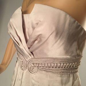 BCBGMAXAZRIA Gorgeous Ivory Mini Dress