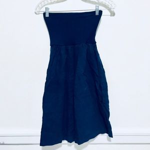 Jolie strapless linen dress