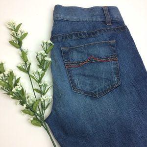 Women's Ann Taylor Loft  Modern Flare Jeans Size 8