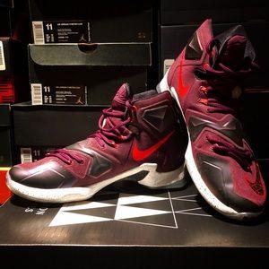 "Nike Shoes - Nike LeBron XIII ""Written in the Stars"", Size 11"