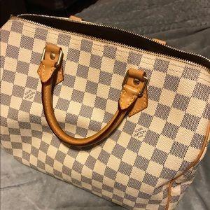 Louis Vuitton azur speedy