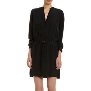 Vince Drawstring Waist Shirt Dress