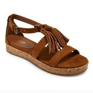 [Mossimo] tassel cork sandals