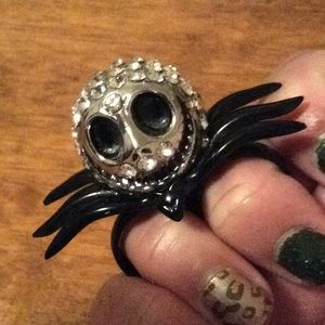 Nightmare before Christmas two finger ring EUC