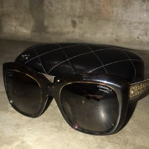 Chanel 5347-A Polarized Sunglasses - Tortoise