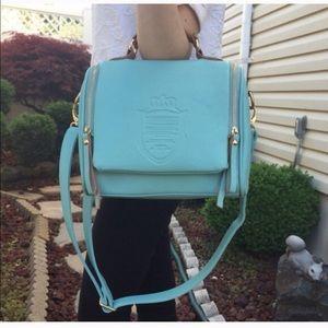 Cross-body bag  turquoise