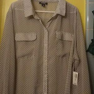 Womens button down dress shirt