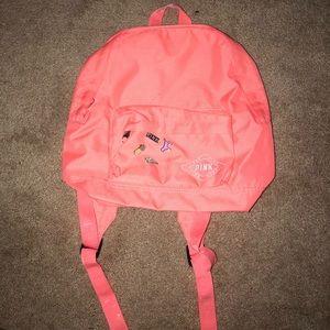 PINK Coral mini backpack