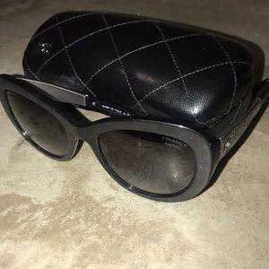 Chanel 5346 Polarized Sunglass - Black
