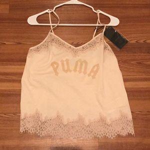 Fenty x Puma by Rihanna Cream Tank