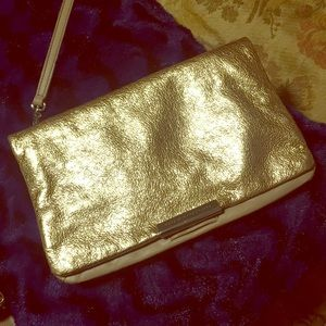 Marc Jacobs Rose Gold Clutch