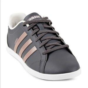2cb9559154d7 adidas Shoes - RARE adidas Rose Gold and Gray ADIDAS NIB