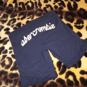 5/$25 Abercrombie sweatpants material shorts sz M