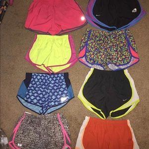 Nike & underarmour shorts