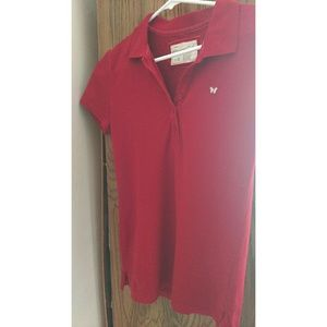 NEW - Aeropostale Red Polo T-shirt