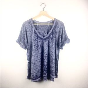 Free People V Neck Shirt