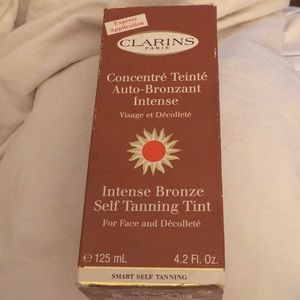 NEW Clarins Intense Bronze Self Tanner for Face