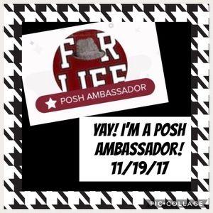 Other - 🎉🎊🎉 YAY! Posh Ambassador 11/19/17!!! 🎉🎊🎉