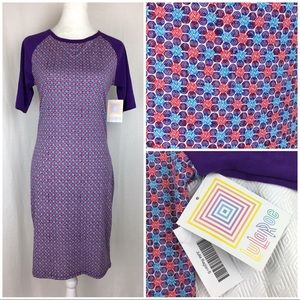 NWT LuLaRoe Julia Raglan Dress