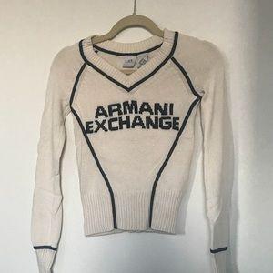 Armani Exchange wool sweatshirt