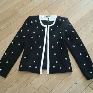 WOMEN'S SIZE 6 JACKET WITH BEADS