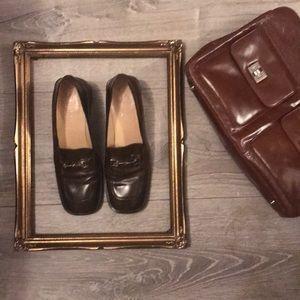 VTG Gucci chunky heel