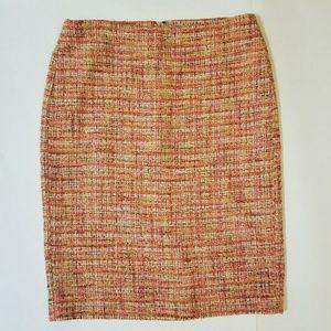 NWT! Talbots Tweed Pencil Skirt.