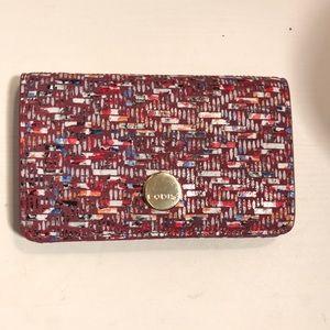 Lodis Tweetable Tweed Mini Card Case