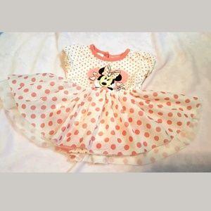 Disney Baby Minnie Mouse Dress 3-6 Months