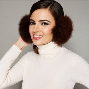 Fur Earmuffs Warm & Stylish