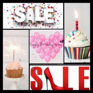 Happy Birthday To Me Birthday Sale 11/20