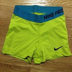 Nike pro shorts!!