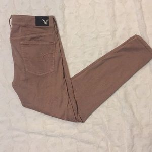 American Eagle blush jegging