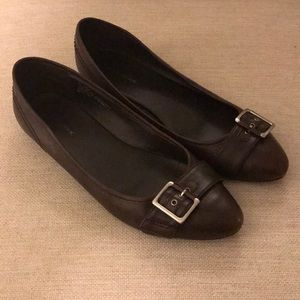 Banana Republic Brown Leather Flats