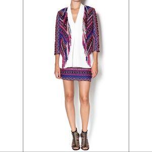 Amanda Uprichard Fringe Tweed Jacket✨STUNNER