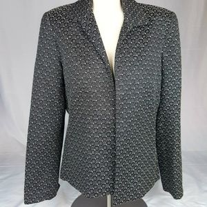 Marshall Fields Patterned Professional Blazer 12