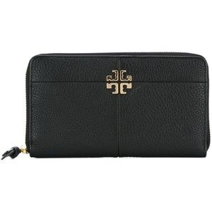 NWT Tory Burch Ivy Zip Continental Leather Wallet