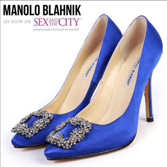 Sex in the city shoes blue