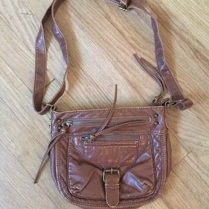 Mossimo Faux Brown Leather Purse