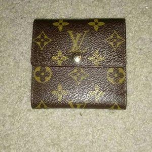 Louis Vuitton Portefeiulle Elysse Monogram wallet.