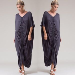 NWT Black caftan maxi dress